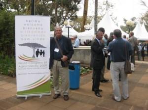 Coffee Break at the UN complex in Nairobi