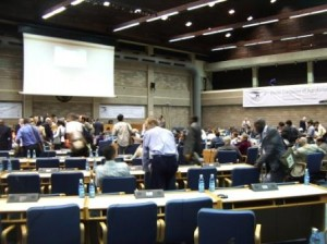 Main Hall at the UN conference facilities