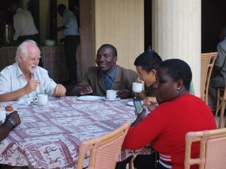 Tea time at the symposium